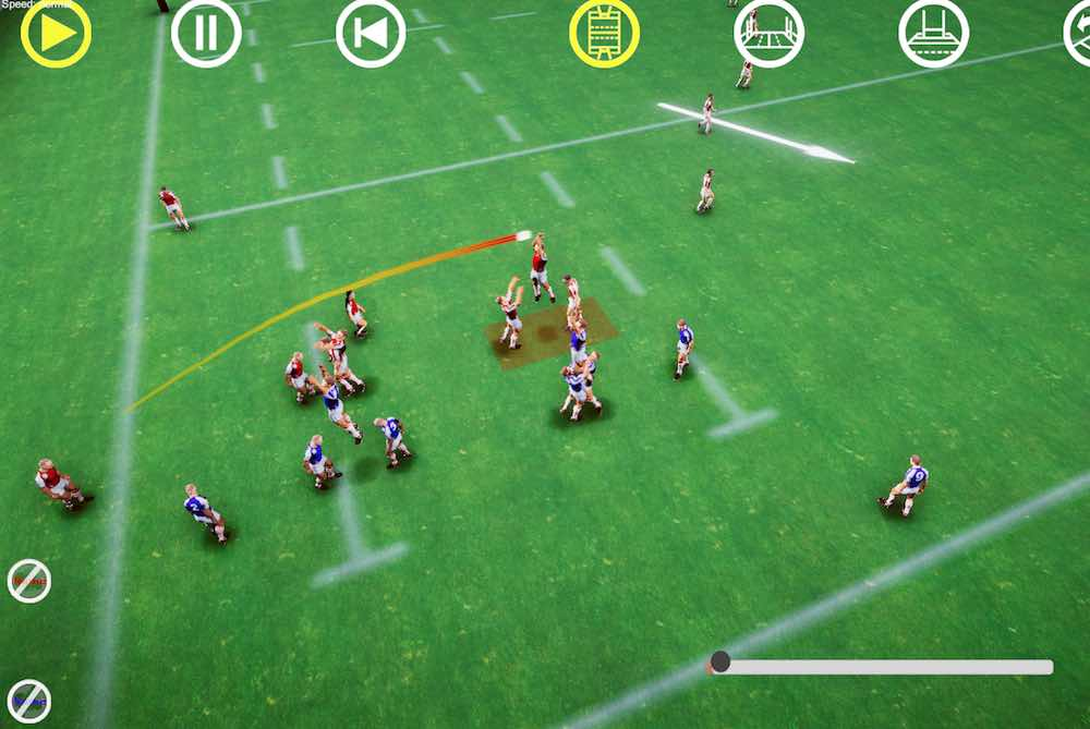 rugby 3D lineout jump