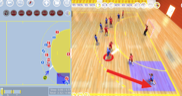 Handball software 2D 3D