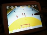 Handball tablet viewer 3d